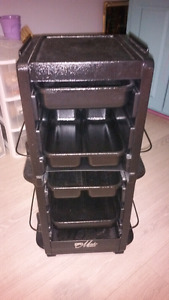 Hair dresser cart trolly