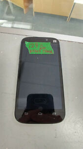 ZTE Android Smartphone w/ charger on Chatr Mobile 16GB