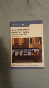 Major Problems American History (Volume 2: Since 1865)