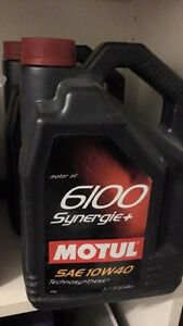 Motul 6100 synergie + 10w40 5L West Island Greater Montréal image 1