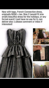 Size 2 French Connection Formal Dress