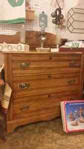 solid wood antique dresser London Ontario image 1