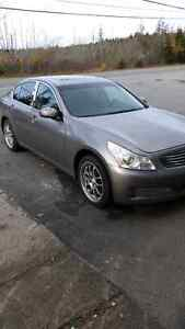REDUCED- 2007 infiniti g35x sedan AWD