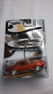 HOT WHEELS G MACHINES 1968 CAMARO MINT 1:50 DIE CAST