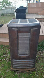 Coleman oil heater with tank
