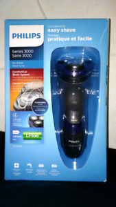 Philips shaver 3000 series, 35$, brand new not open