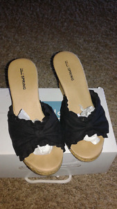 NEW Spring sandals/wedges  (never worn)