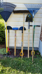 NEW AND USED YARD TOOLS AND OUTDOOR TOOLS