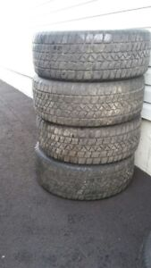 Winter tires in good condition. Not needed anymore