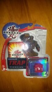 Bakugan Vestoria Red Pryus Trap Piercian