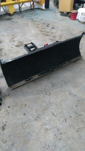 """Warn 54"""" 5-way angle plow that mounts on trailer hitch"""