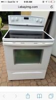 Whirlpool convection stove and Allure Hood