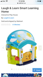 Fisher Price smart play house BNIB