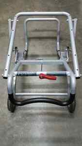 Bosch TS3000 gravity rise wheeled table saw stand
