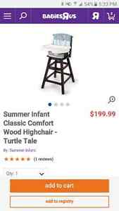 Summer Infant Turtle Tales High Chair