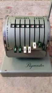 Paymaster cash register