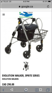 I have a walker for sale in good condition call the Skywalker i