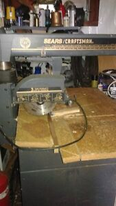 SEARS CRAFTSMAN 10 INCH RADIAL SAW FOR SALE