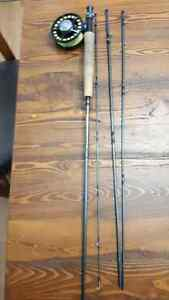 Sage approach 6 WT rod / reel fly fishing combo/peche a mouche