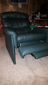 Leather Comfy Recliner