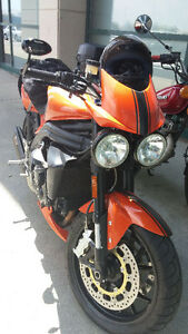 CERTIFIED: 2008 Triumph Speed Triple with many accessories