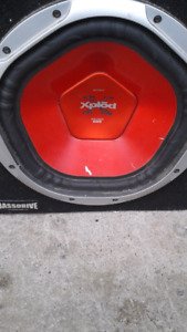 """Sony 12"""" subwoofer"""