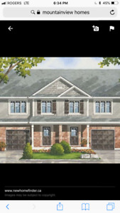 Brand new Two storey  townhouse for sale by crystal beach area