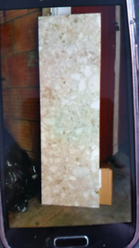 SOLID MARBLE HEARTH £65