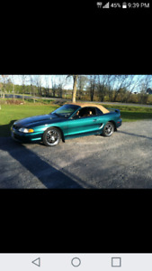 1996 Mustang Gt Convertible for sale or trades