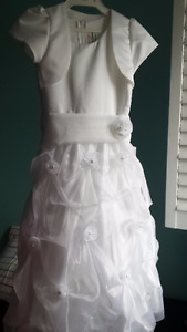 First Communion Dress + Veil