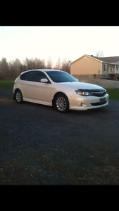 2010 Subaru Impreza Hatchback sport package