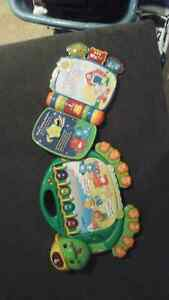 2 VTECH LIGHTS AND SOUND Stories & READERS  Electronic books 3+