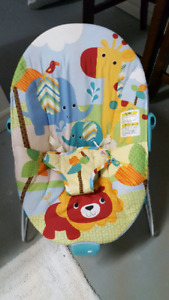 Bright Starts vibrating/bouncy chair