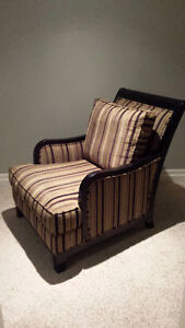 Cindy Crawford Hudson Accent Chair in Taupe - GREAT Condition!