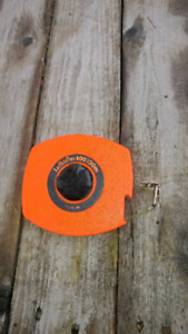 Lufkin 100' tape measure