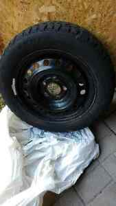 Snowtrakker winter tires with rims Cambridge Kitchener Area image 2