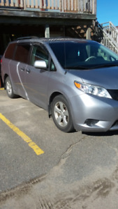 2012 Toyota Sienna Winter tires are on!
