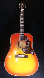 EPI HUMMINGBIRD PRO Acoustic/Electric