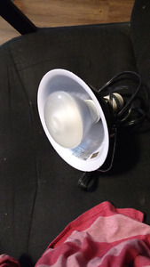 Large domelight with clip and small domelight witout