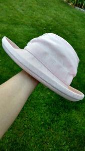 Pink Tilley Hemp Hat