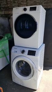 New Samsung Front Load Washer and Dryer