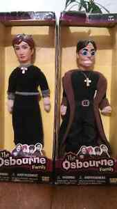 Ozzy and Sharon Dolls