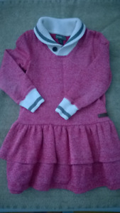 Roots - Girls Pink Sweater Dress - Size 4T