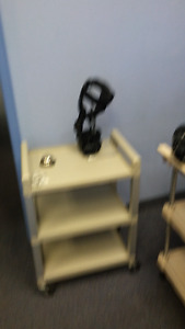 Physiotherapy and Treatment Cart.