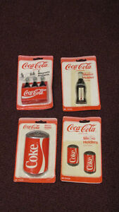 Lot of 4 Different Coca-Cola Magnets