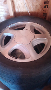 Chevy rims and tires 225/60/16