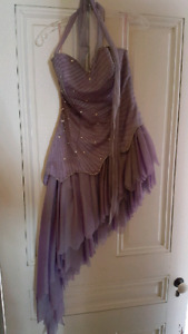 Beautiful lilac prom dress -free-