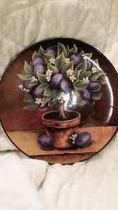 Cookie jar and ceramic plate Cambridge Kitchener Area image 4