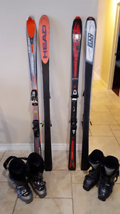 SKIS BOOTS BINDINGS EXCELLENT CONDITION!
