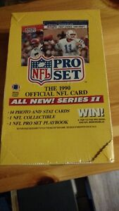 NFL Pro Set - 1990 Official NFL Card - REDUCED Kawartha Lakes Peterborough Area image 1